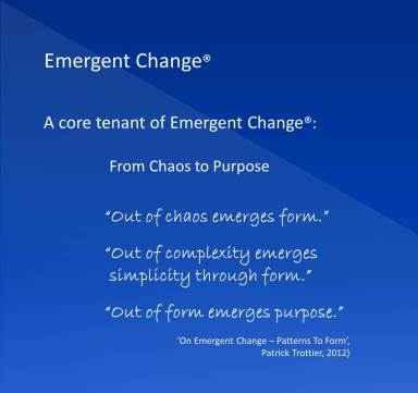 A CORE TENANT - FROM CHAOS TO FORM